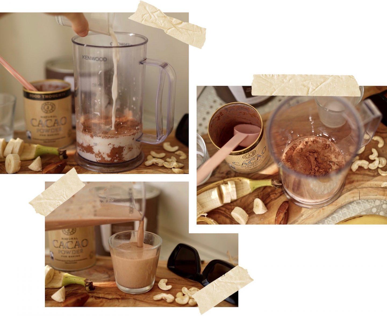 Chocolate Cacao Peanut Butter Mylk Mylkshake