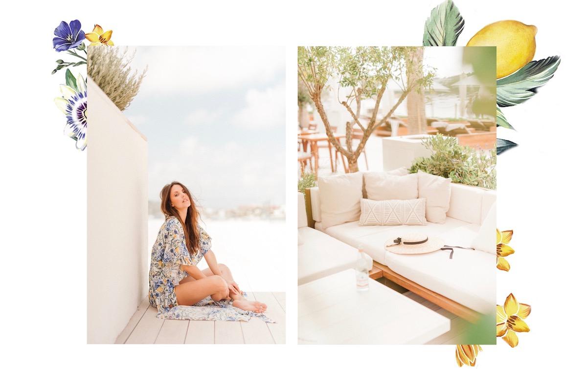 Evarae Swimwear Nobu Hotel Ibiza Bay Stephanie Peers