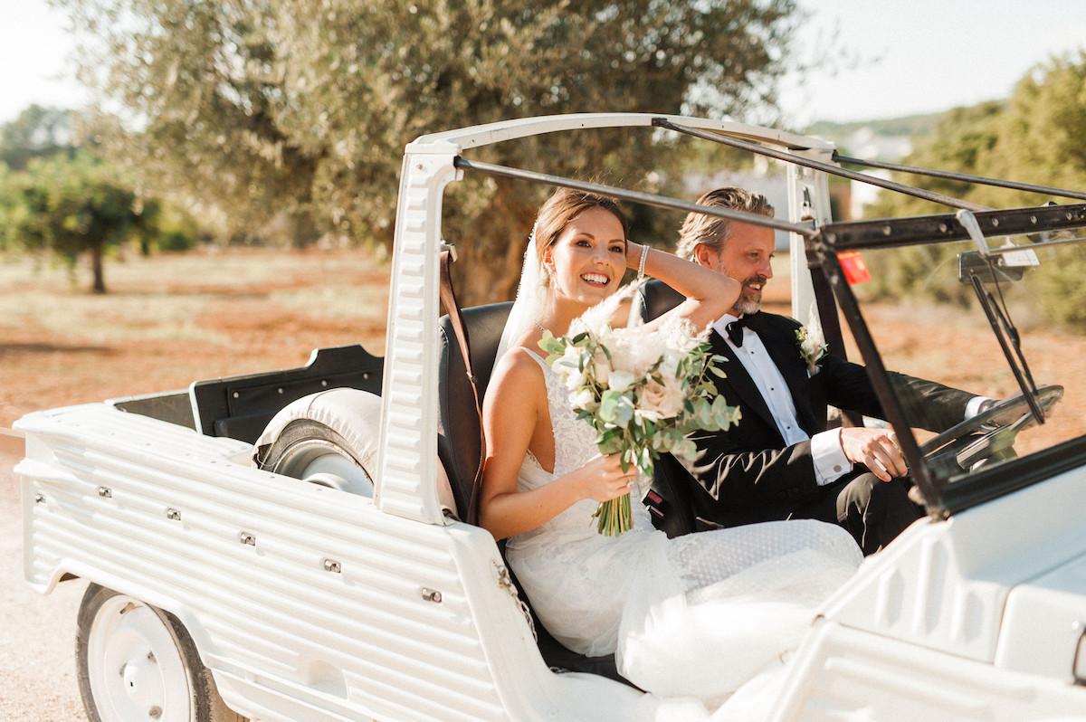 Ibiza Wedding Ca Na Xica Citroen Mehari